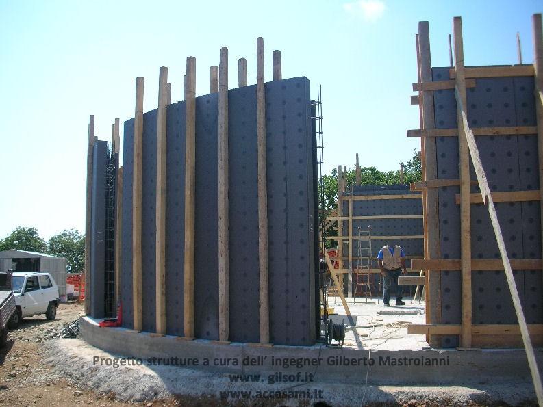 progetto strutture casa passiva
